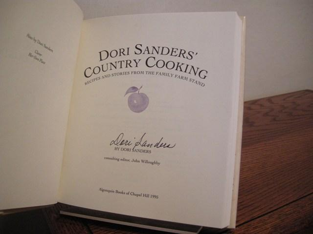 Dori Sanders' Country Cooking Recipes and