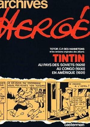 Archives 1 tintin: Herge: