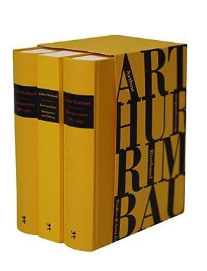 Korrespondenz Aus dem Französischen übersetzt und kommentiert: Rimbaud, Arthur, Jean-Jacques