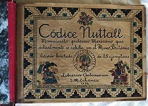 Codice Nuttall / Manuscrito pictórico Mexicano que