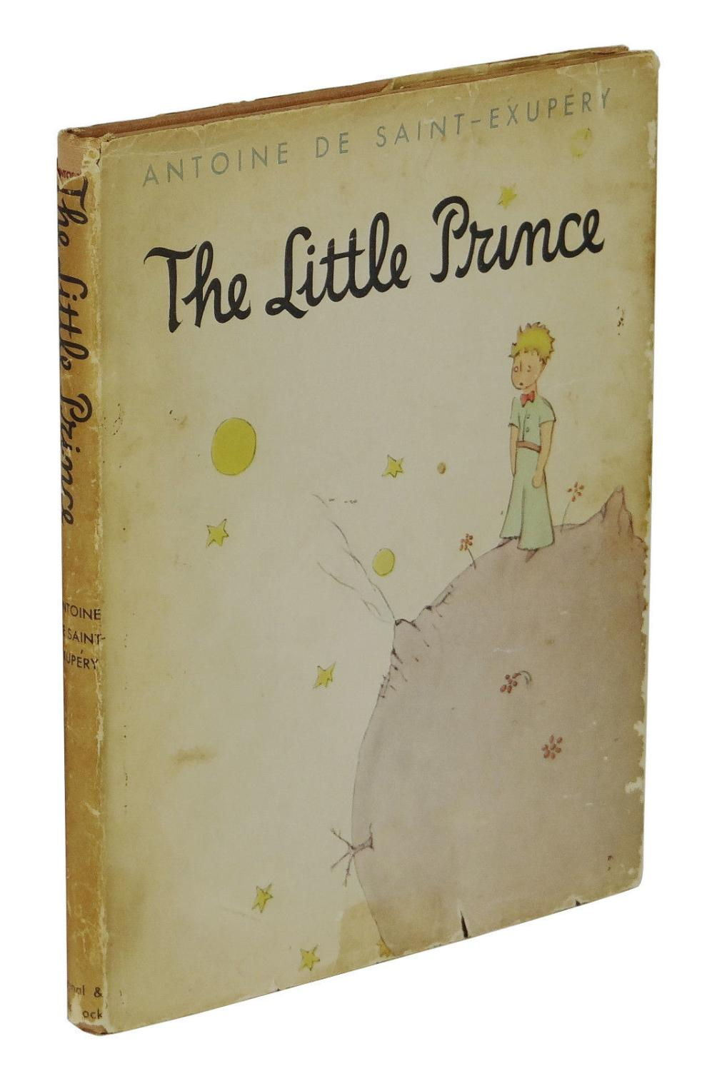 The Little Prince By Saint Exupery Antoine De Very Good Hardcover 1943 First Edition Burnside Rare Books Abaa
