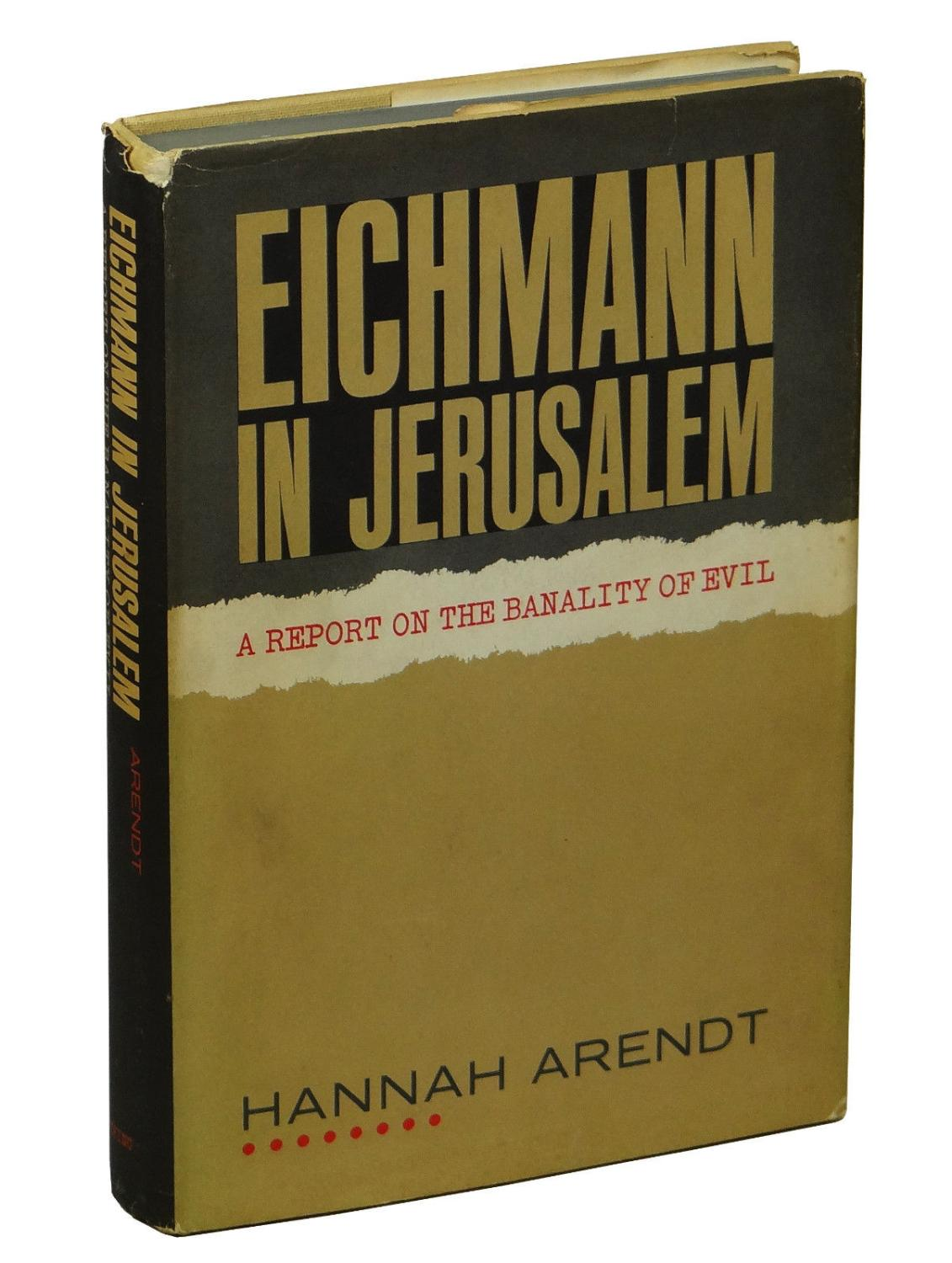 hannah arendt the banality of evil - HD 1131×1500