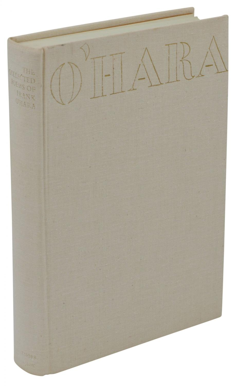 The Collected Poems Of Frank Ohara