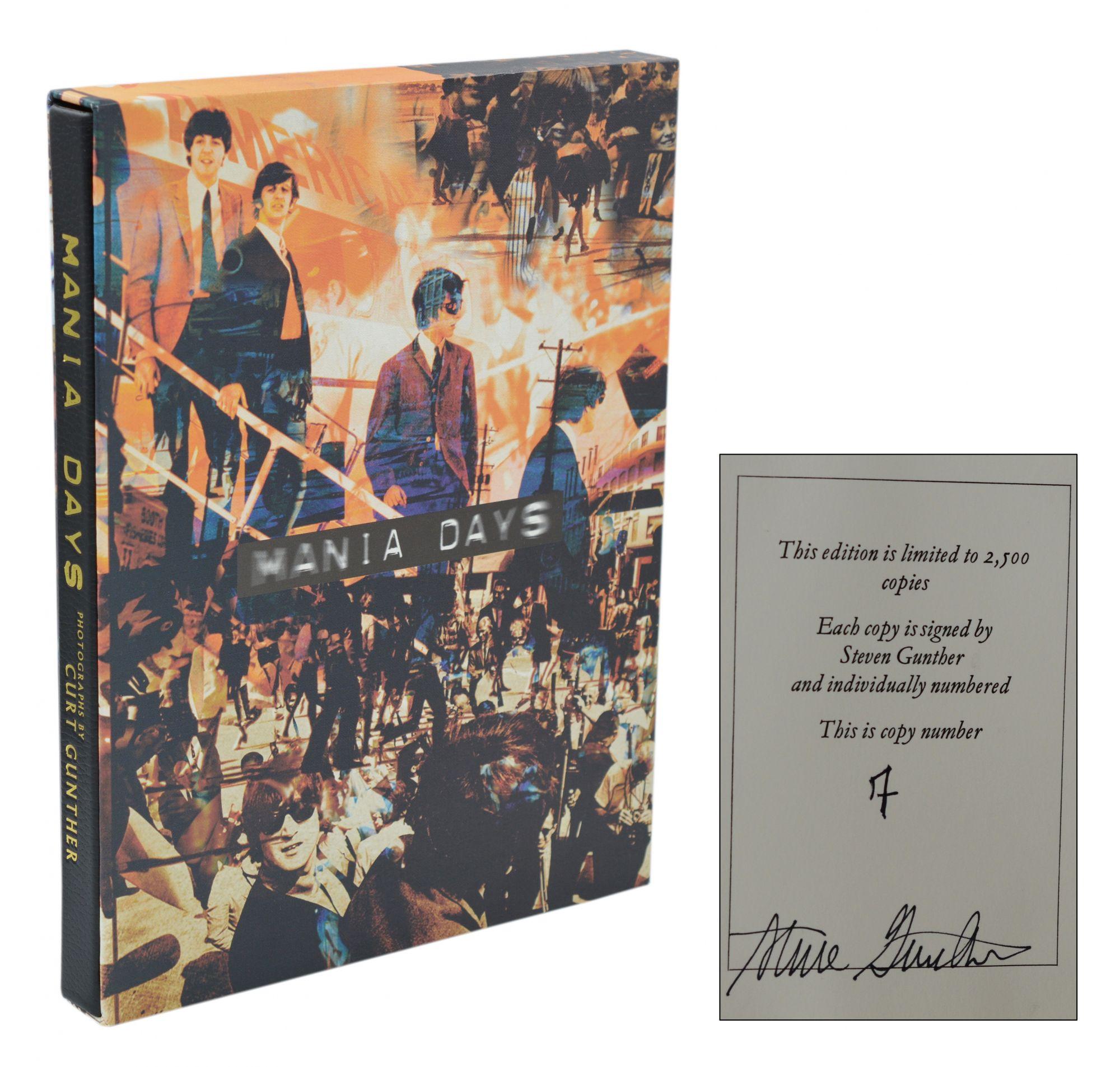 Mania_Days_The_Beatles_1964_US_Tour_The_Beatles_Derek_Taylor_Gunther_Curt_Photographs_Très_bon