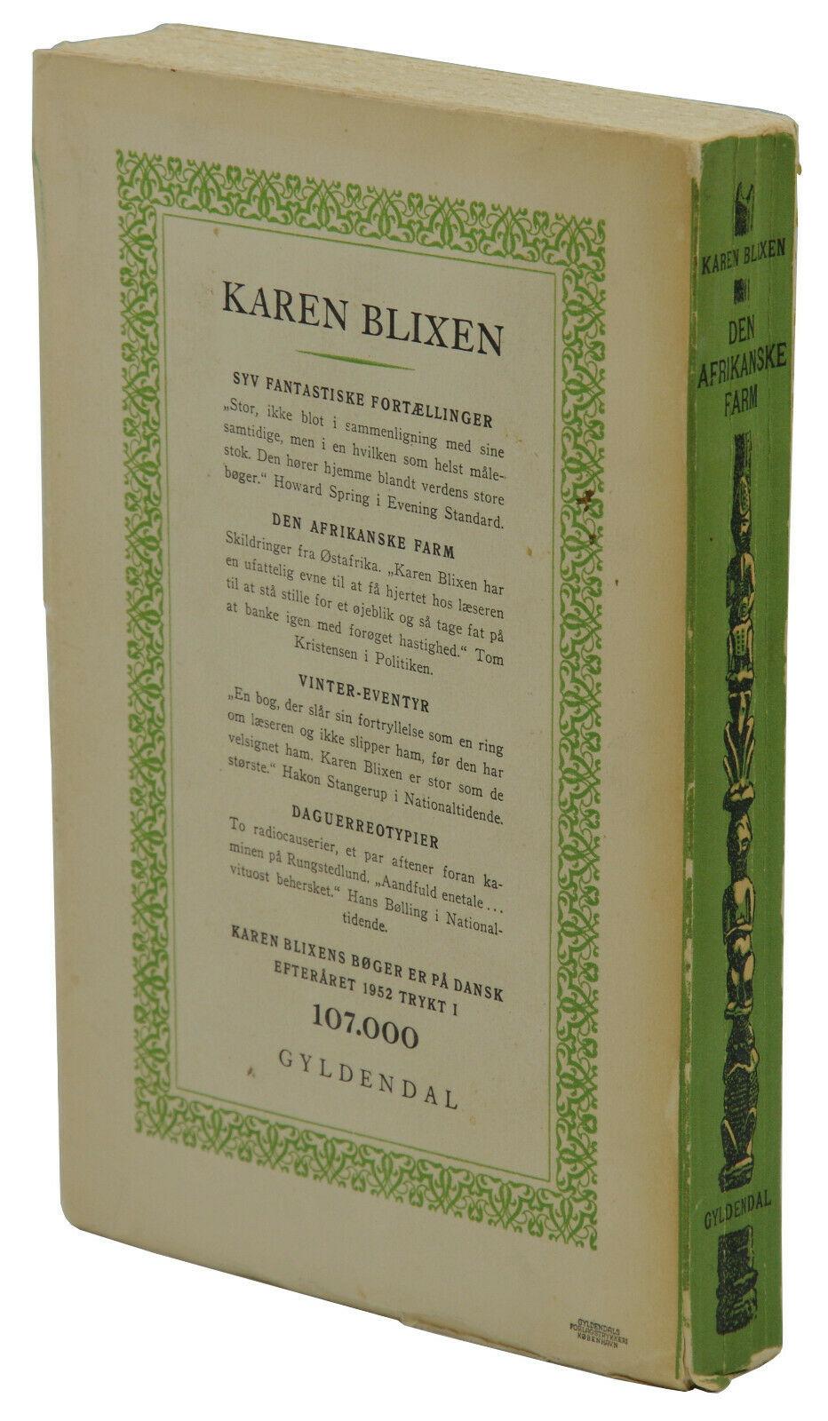 Karen Blixen Signed Abebooks