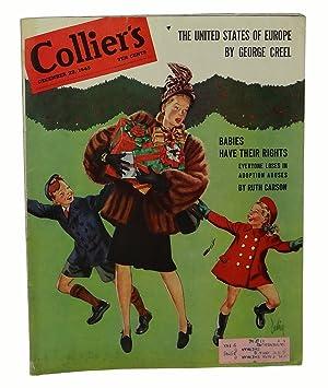 """I'm Crazy"""" in Collier's, December 22, 1945: Salinger, J.D."""