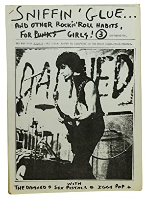 SNIFFIN' GLUE and Other Rock 'N' Roll Habits for Punks Girls! Issue 3, September '76