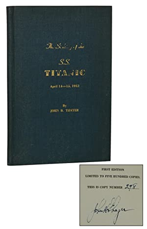The Sinking of the S.S. Titanic, April 14-15, 1912