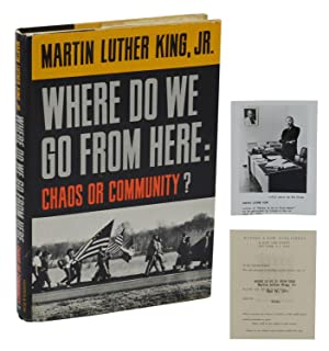 Where Do We Go from Here: Chaos: King, Martin Luther,