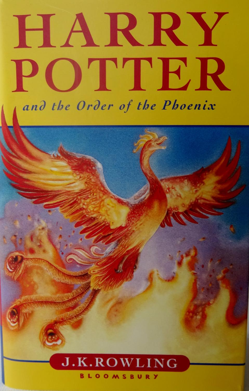 Harry Potter Book By Order : Harry potter and the order of phoenix by rowling j k