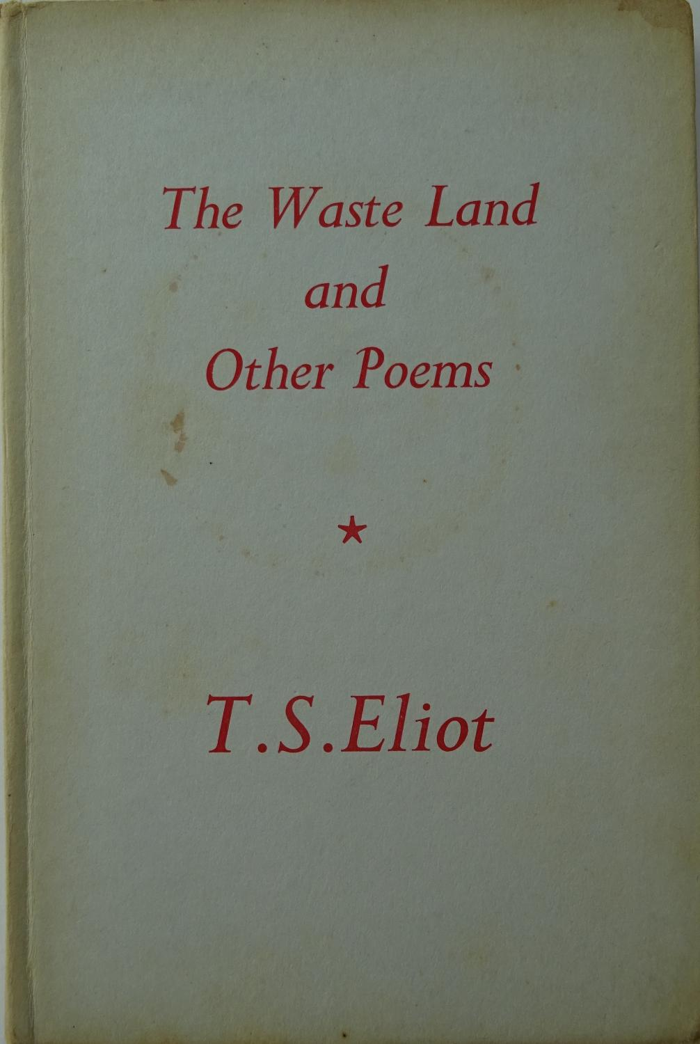 Wasteland prufrock and other poems