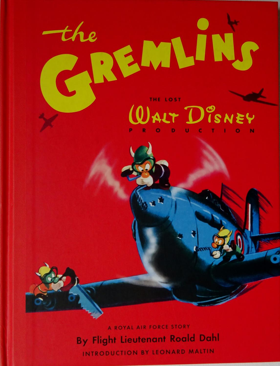 Image result for roald dahl gremlins