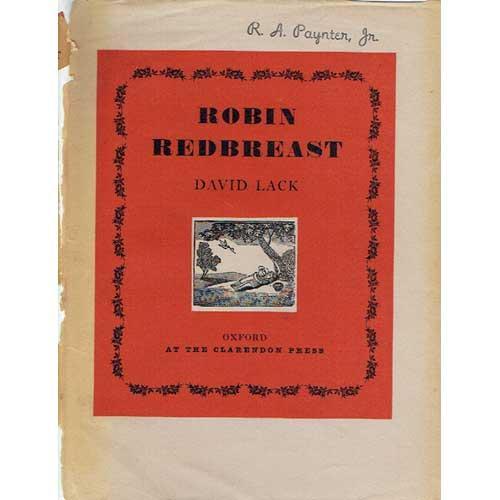 Robin Redbreast Lack, David [ ] [Hardcover] (bi_13786729057) photo