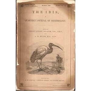 The Ibis, Volume II, 1908. Jubilee Supplement: Sclater, Philip Lutley