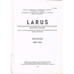 Larus: XVI-XVIII: Rucner, Renata [Editor]