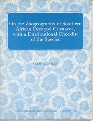 On the Zoogeography of Southern Afican Decapod: Kensley, Brian