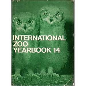 1974 International Zoo Yearbook 14: Duplaix-Hall, Nicole. Editor.