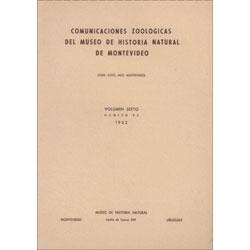 Las Aves del Uruguay: Lista Sistematica, Distribucion y Notas: Cuello, Juan and Eugenio Gerzenstein