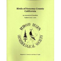 Birds of Sonoma County California: An Annotated: Parmeter, Benjamin D.