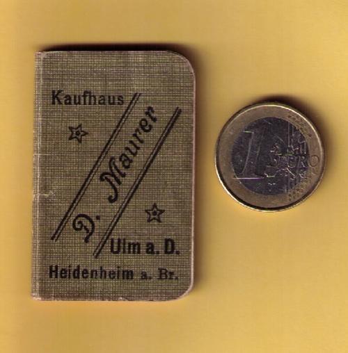 Portemonnaie-Kalender für 1908.