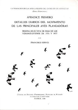 La Migracion de las aves a traves: Francisco Bernis