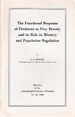 Memoirs of the Entomological Society of Canada.