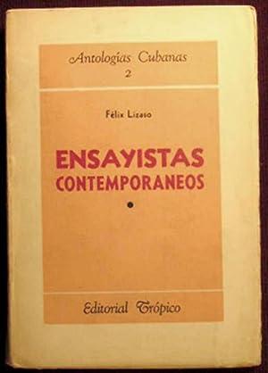 Antologias Cubanas 2: Ensayistas Contemporaneos, 1900-1920: Lizaso, Felix, ed.