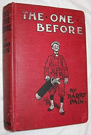 The One Before: Pain, Barry (Pseudonym For Eric Odell)