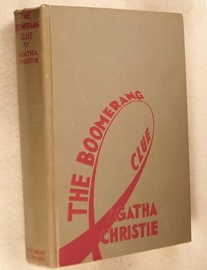 The Boomerang Clue: Christie, Agatha