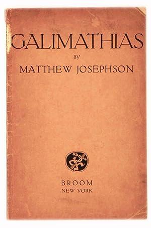Galimathias: Josephson, Matthew