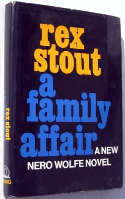 A Family Affair: Stout, Rex
