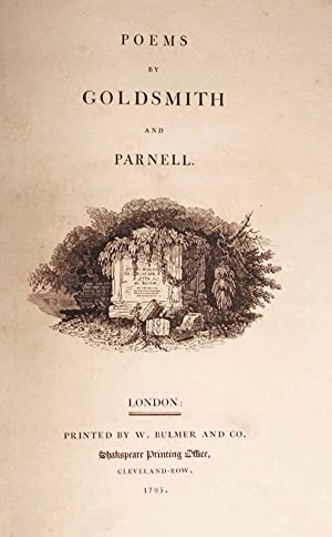 Poems by Goldsmith and Parnell -- WITH A SUITE OF SEPARATELY PRINTED CUTS FROM THE 1804 EDITION: ...