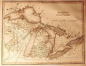 Michigan and the Great Lakes [Map]: Boynton, George Washington