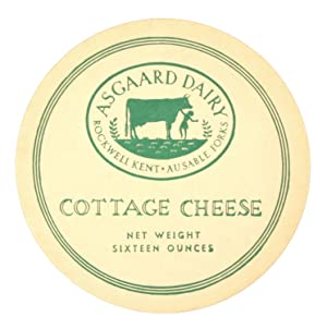 Asgaard Dairy: Cottage Cheese Lid