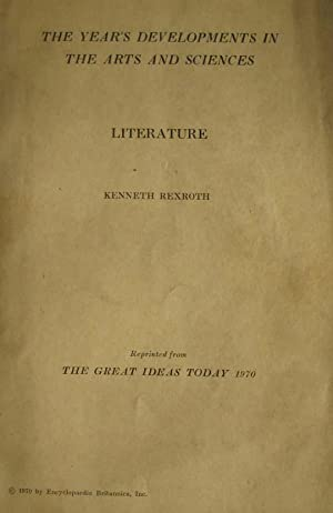 Literature: Rexroth, Kenneth