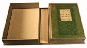 Poems of the Past and the Present -- INSCRIBED ASSOCIATION COPY: Hardy, Thomas