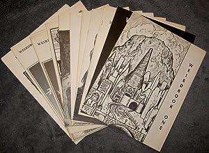 Weirdbook 1-9 [plus] The Weirdbook Sampler: Ganley, W. Paul, Ed.