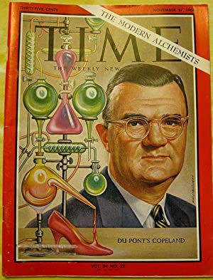 The Modern Alchemists. Cover to Time Magazine November 27, 1964
