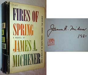 The Fires of Spring: Michener, James