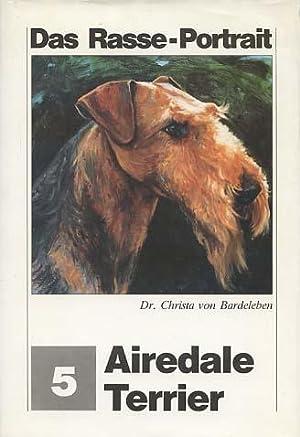 Airedale-Terrier. Zeichn. von Renate Dolz, Das Rasse-Portrait: Bardeleben, Christa von: