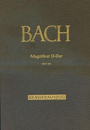 Magnificat D-Dur. BMV 243 Klavierauszug // Magnificat: Müller, Eduard, Johann-Sebastian