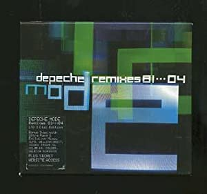 Depeche Remixes 81 - 04 LTD 3 Disc Edition