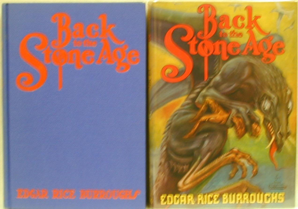 Back To The Stone Age By Burroughs Edgar Rice Burroughs border=