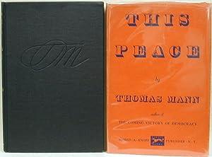 THIS PEACE: MANN, Thomas
