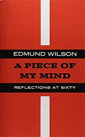 PIECE OF MY MIND P: Wilson, Edmund