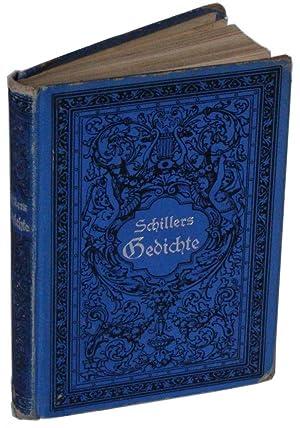 Gedichte Von Friedrich Von Schiller: Schiller, Friedrich