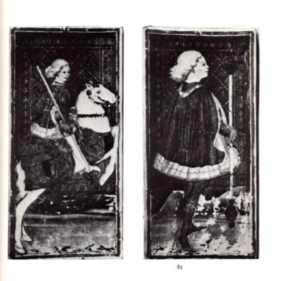 THE TAROT CARDS PAINTED BY BONIFACIO BEMBO FOR THE