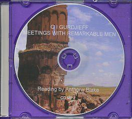 MEETINGS WITH REMARKABLE MEN: Gurdjieff, G.I.; Anthony