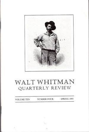 Walt Whitman Quarterly Review - AbeBooks