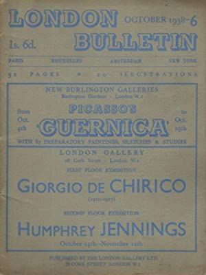 LONDON BUTTETIN NO 6, OCTOBER 1938